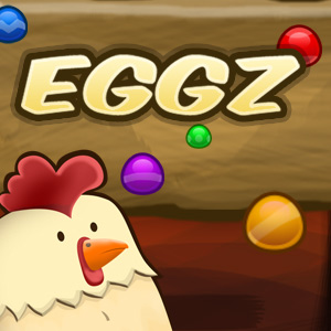 AARP Connect's online Eggz Blast game