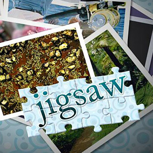 AARP Connect's online Jigsaw Puzzle Beginner game