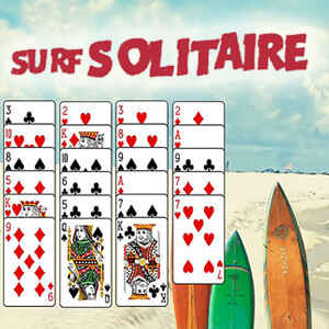 AARP Connect's online Surf Solitaire game