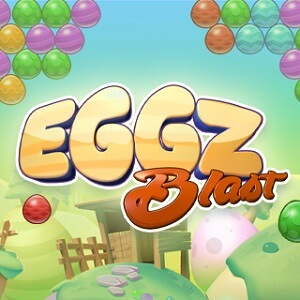 AARP Connect's online Eggz Blast New game