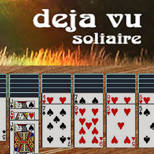 AARP Connect's online Deja Vu Solitaire game