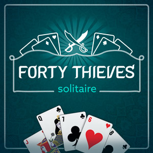 AARP's online Forty Thieves Solitaire game