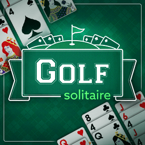 AARP's online Golf Solitaire game