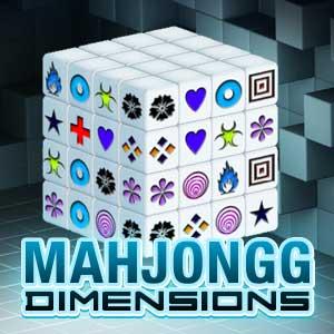 AARP's online Mahjongg Dimensions game