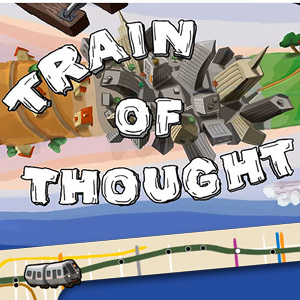 AARP Connect's online Train of Thought game
