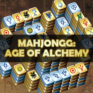 AARP's online Mahjongg: Age of Alchemy game
