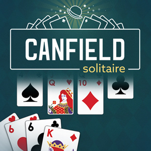 AARP's online Canfield Solitaire game