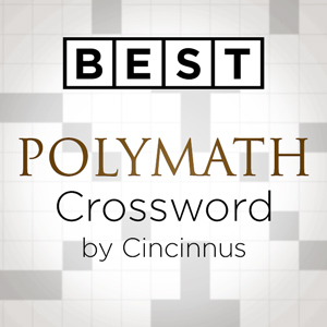 AARP's online Best Polymath Crossword by Cincinnus game