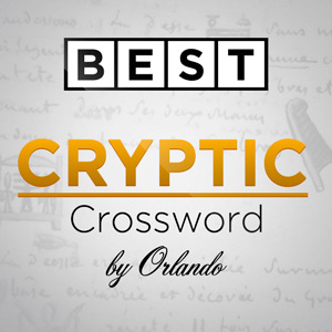 AARP's online Best Cryptic Crossword by Orlando game
