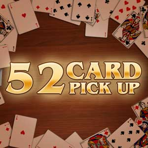 AARP's online 52 card pickup game