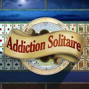 AARP's online Addiction Solitaire game