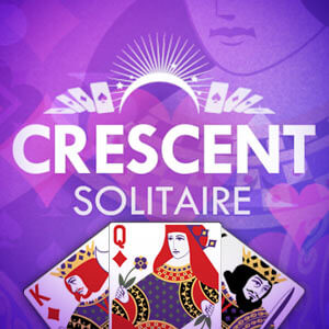 AARP Connect's online Crescent Solitaire game