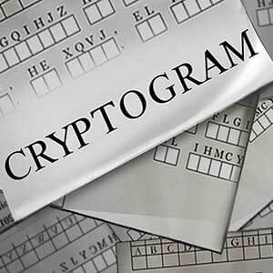 AARP Connect's online Cryptogram game