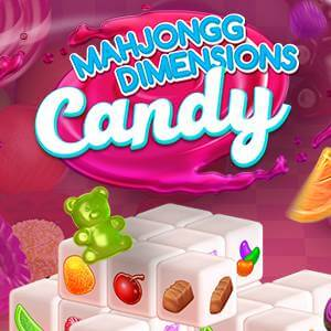 AARP's online Mahjongg Dimensions Candy game