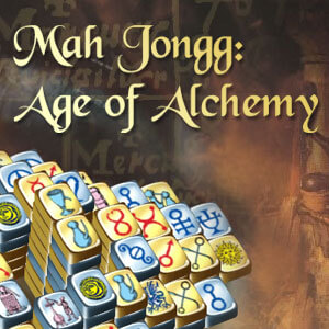 AARP's online Mahjongg Age of Alchemy game