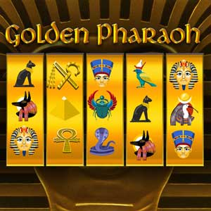 AARP's online Slots: Golden Pharaoh game