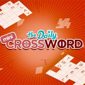 AARP's online Mini Crossword game