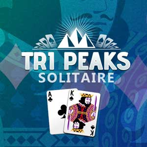 AARP's online Tripeaks Solitaire New game