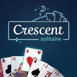 AARP's online Crescent Solitaire game