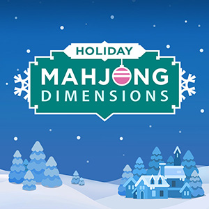 AARP's online Holiday Mahjongg Dimensions game
